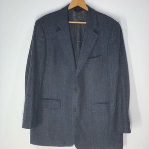 "Brooks Brothers ""346"" Gray Jacket Blazer"
